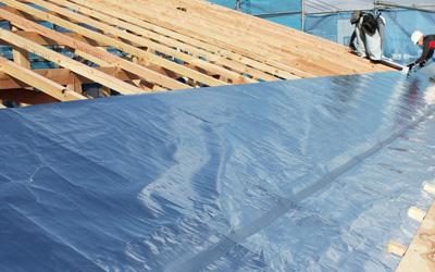 屋根の遮熱シート
