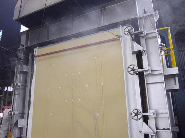 EX断熱の防火試験